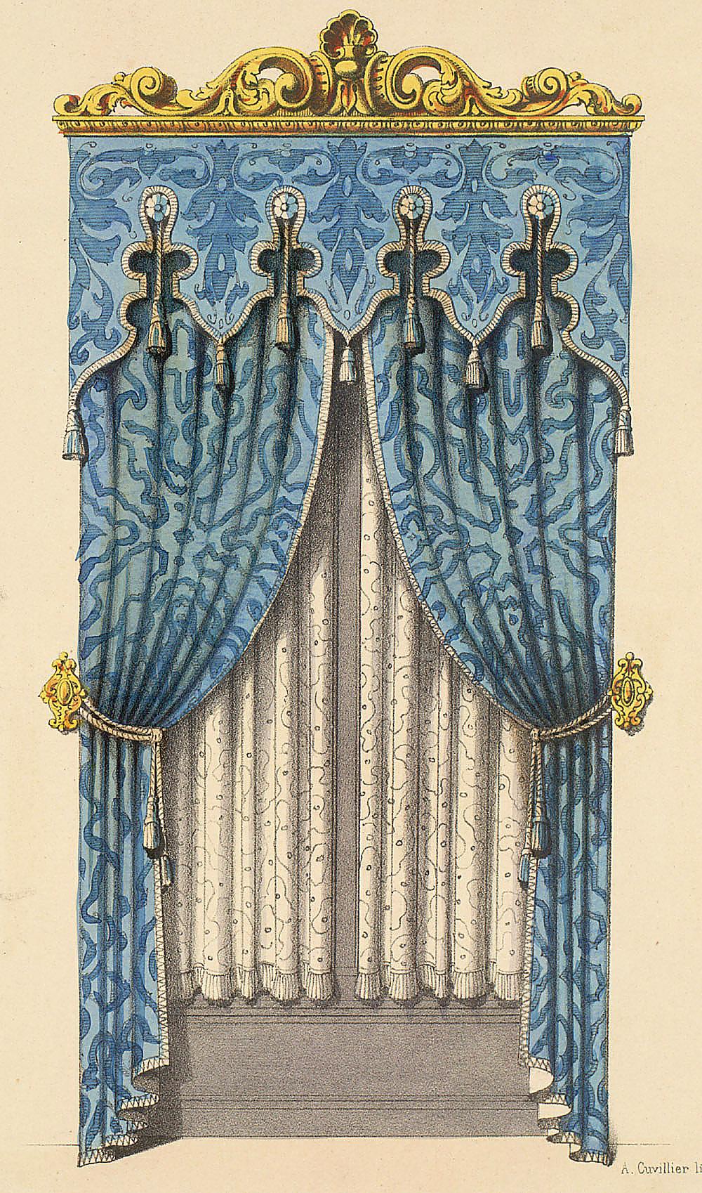 Rococo decor lovinglifeandbeingabitch - Www curtain design picture ...