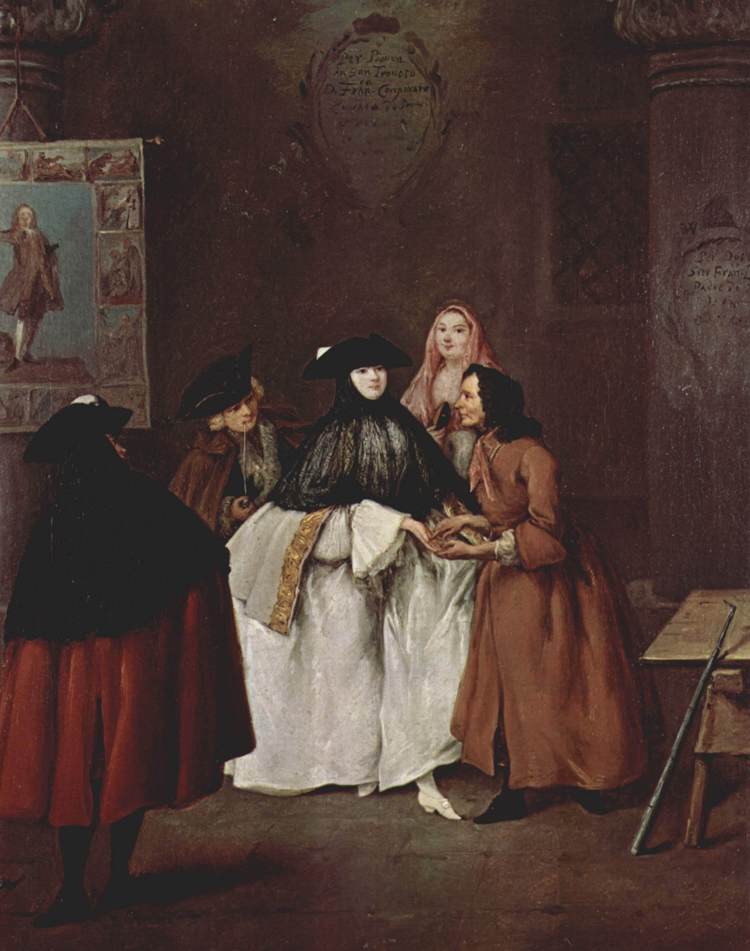 The Fortune Teller: The New Economy (18th Century Costume